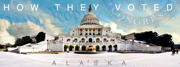 How Alaska Congressional delegations voted on health care legislation