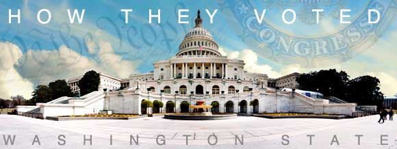 How Washington Congressional delegations voted on health care legislation